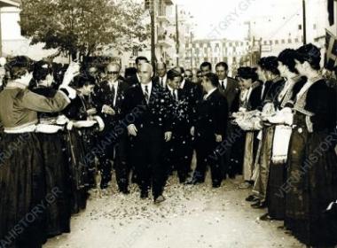 Στιγμιότυπο από τις επισκέψεις του Στυλιανού Παττακού στη Βέροια